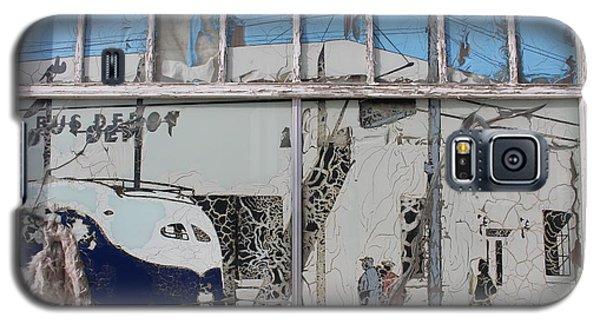 Vintage Bus Depot Sign Galaxy S5 Case