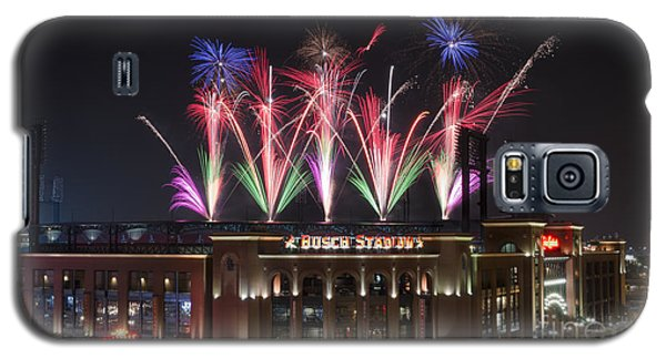 Galaxy S5 Case featuring the photograph Busch Stadium by Andrea Silies