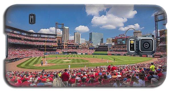 Busch Stadium St. Louis Cardinals Cardinal Nation Ballpark Village Day #2a Galaxy S5 Case