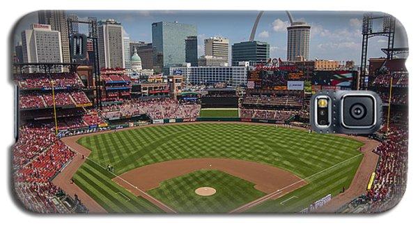 Busch Stadium T. Louis Cardinals Ball Park Village National Anthem #3a Galaxy S5 Case