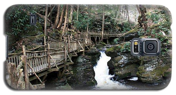 Bushkill Falls Boardwalk 2 Galaxy S5 Case
