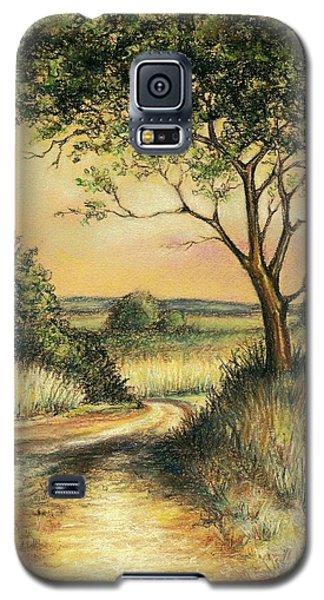 Galaxy S5 Case featuring the drawing Bushveld by Heidi Kriel