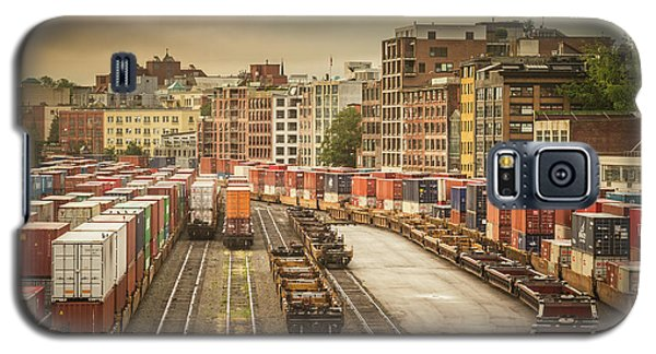 Galaxy S5 Case featuring the photograph Busines End Of The City... by Russell Styles
