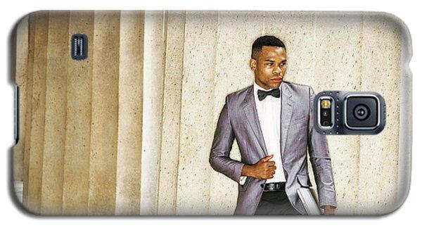 Black Businessman Galaxy S5 Case