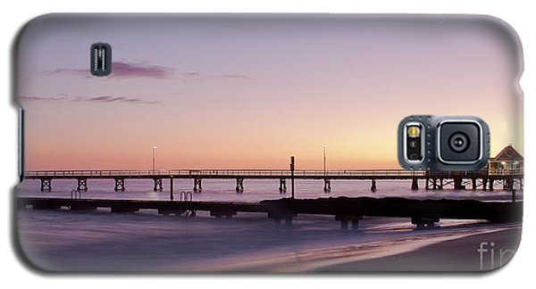 Galaxy S5 Case featuring the photograph Busselton Jetty Sunrise by Ivy Ho