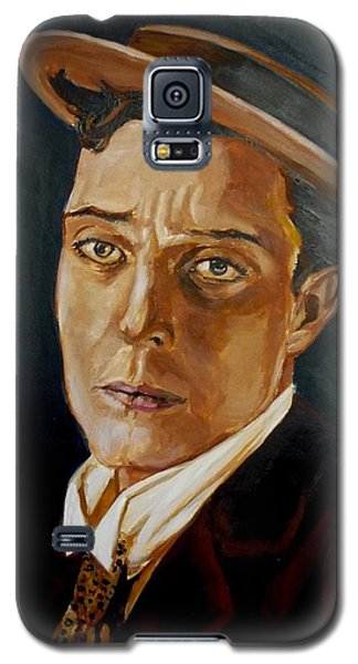 Buster Keaton Tribute Galaxy S5 Case