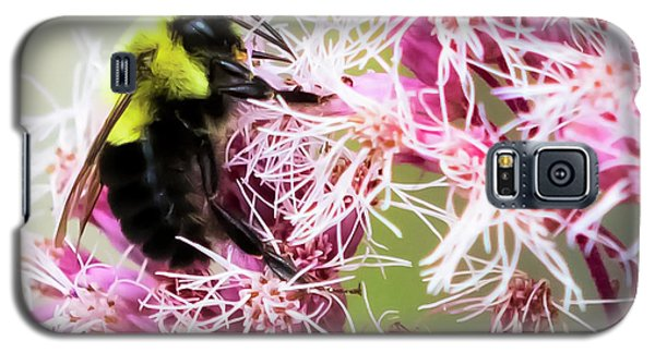 Galaxy S5 Case featuring the photograph Busy As A Bumblebee by Ricky L Jones