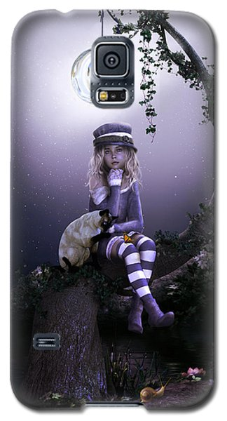 Galaxy S5 Case featuring the digital art Busy Doing Nothing by Shanina Conway