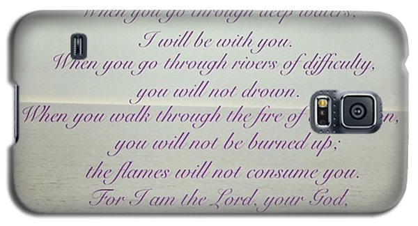 Design Galaxy S5 Case - But Now, O Jacob, Listen To The Lord by LIFT Women's Ministry designs --by Julie Hurttgam