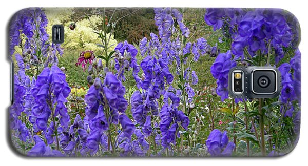 Butchart Gardens Blues Galaxy S5 Case
