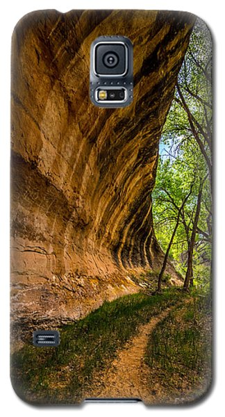 Butler Wash Wave Formation - Blanding - Utah Galaxy S5 Case by Gary Whitton