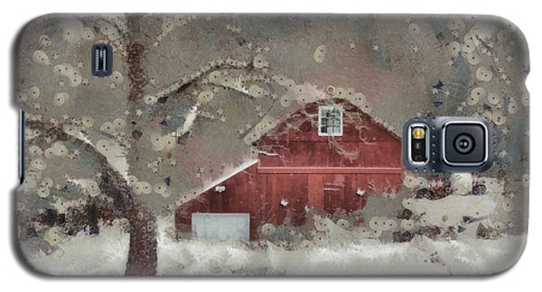 Galaxy S5 Case featuring the mixed media Butter Lane by Trish Tritz