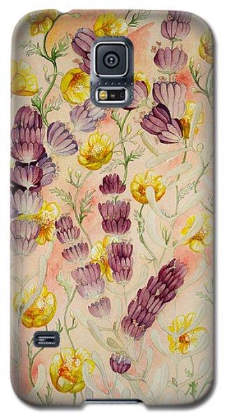Buttercups And Lavendar Galaxy S5 Case