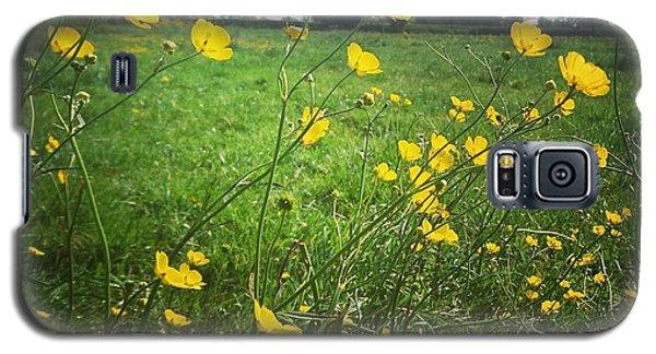 Buttercups Meadow Galaxy S5 Case