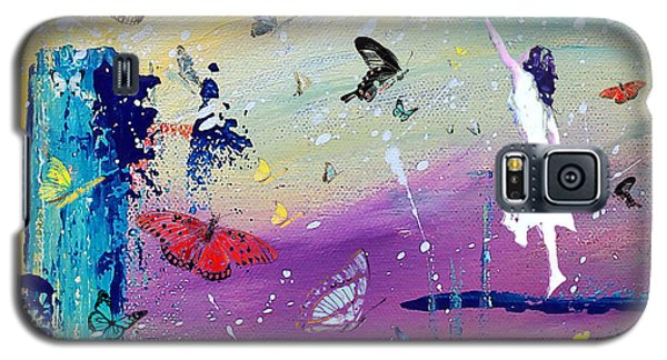 Butterflies And Me Galaxy S5 Case