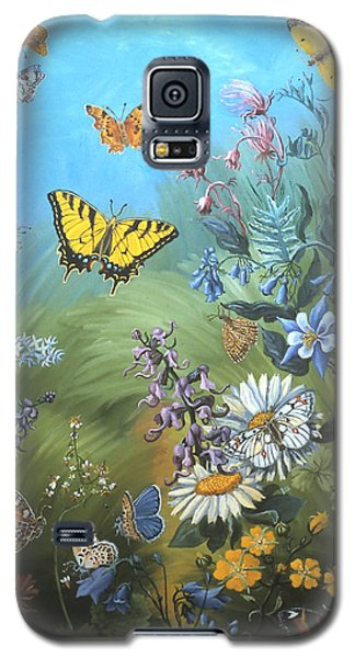 Butterflies And Wildflowers Of Wyoming Galaxy S5 Case