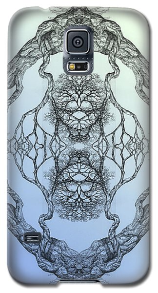 Butterflies Tree 16 Hybrid 3 Galaxy S5 Case