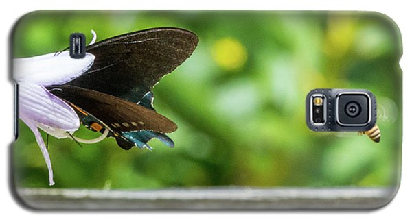 Butterfly And Bee Galaxy S5 Case