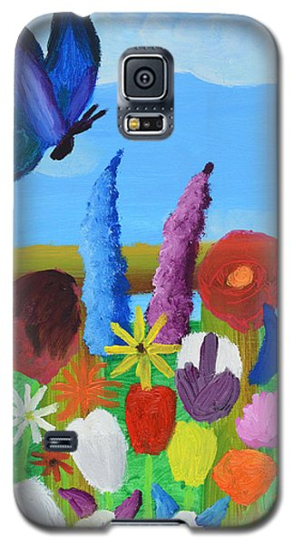 Butterfly Galaxy S5 Case by Artists With Autism Inc