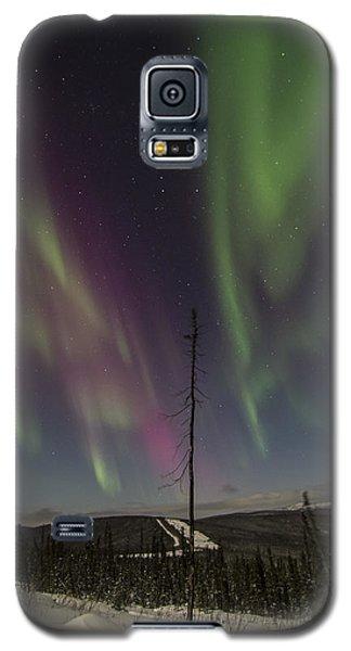 Butterfly Aurora Galaxy S5 Case