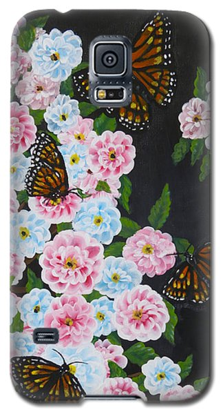 Butterfly Beauty Galaxy S5 Case