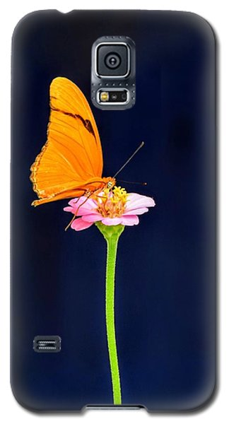Galaxy S5 Case featuring the photograph Butterfly Bloom by Mary Zeman