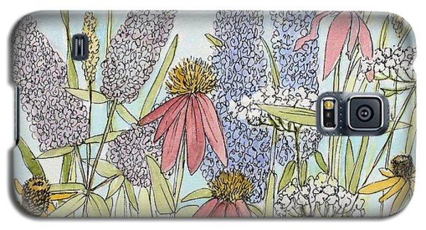 Butterfly Bush In Garden Galaxy S5 Case