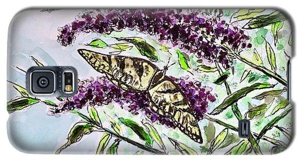 Butterfly Bush Galaxy S5 Case