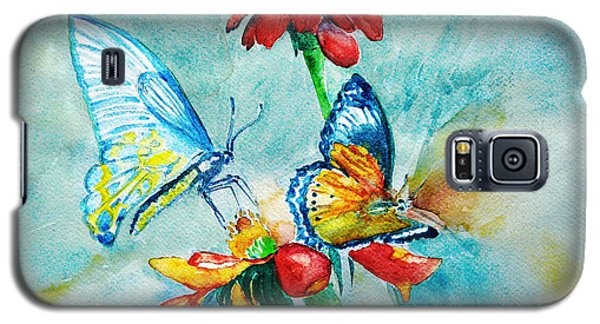 Butterfly Dance Galaxy S5 Case by Jasna Dragun