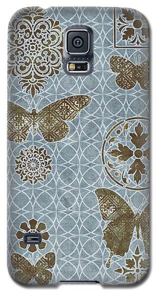 Butterfly Deco 1 Galaxy S5 Case