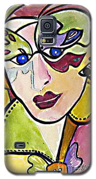 Butterfly Eyes Galaxy S5 Case