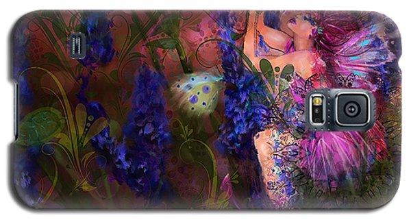 Galaxy S5 Case featuring the digital art Butterfly Fairy by Kari Nanstad