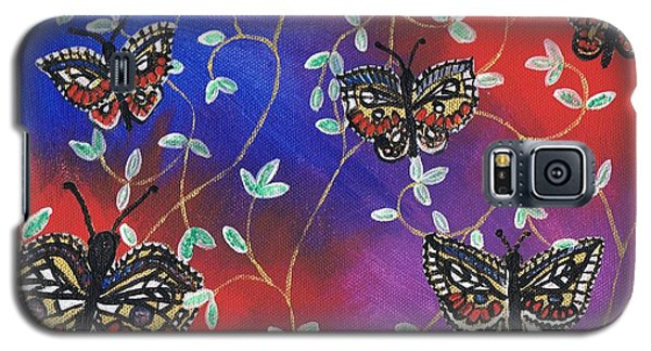 Butterfly Family Tree Galaxy S5 Case
