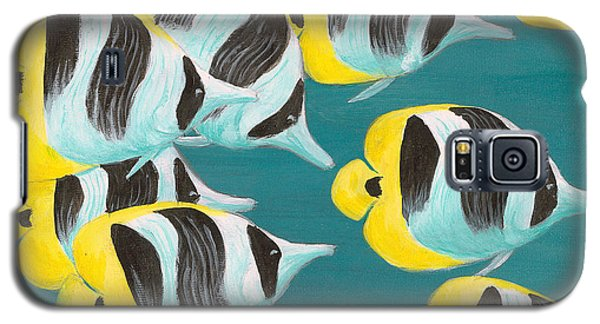 Butterfly Fish Galaxy S5 Case