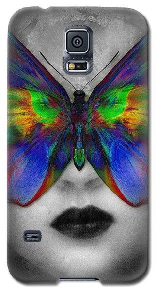 Butterfly Girl Galaxy S5 Case