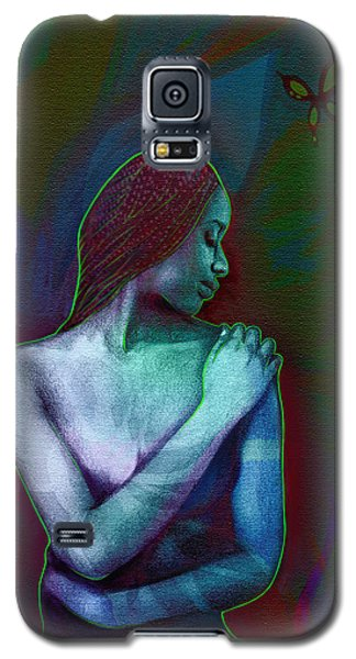 Butterfly Hearts II Galaxy S5 Case by AC Williams