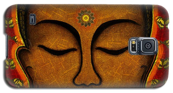 Galaxy S5 Case featuring the mixed media Butterfly Invocation by Gloria Rothrock