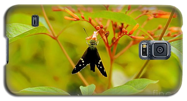 Galaxy S5 Case featuring the photograph Butterfly by Janice Spivey