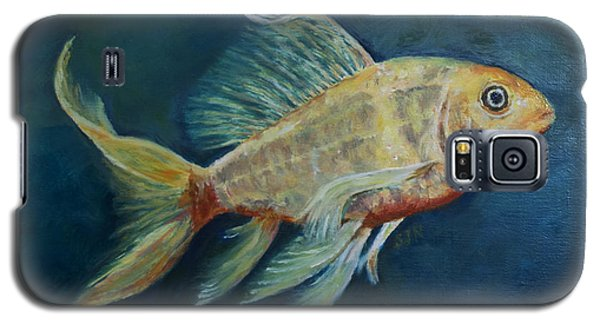 Galaxy S5 Case featuring the painting Butterfly Koi II by Sandra Nardone