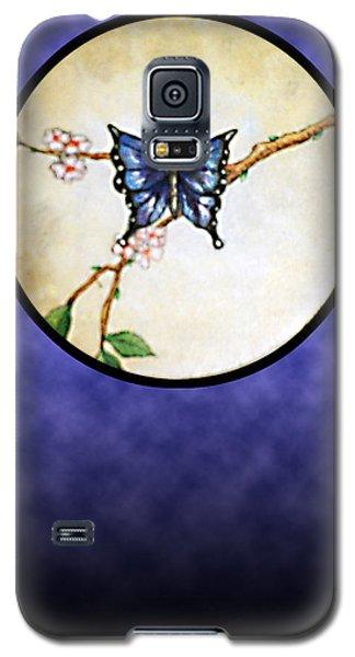 Butterfly Moon Galaxy S5 Case