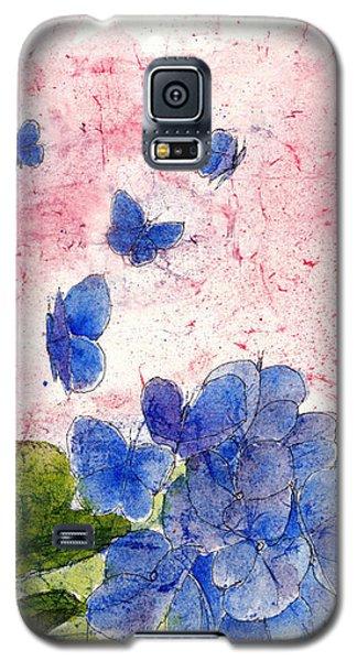 Butterflies Or Hydrangea Flower, You Decide Galaxy S5 Case