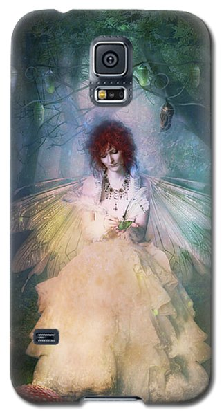 Butterfly Galaxy S5 Case - Butterfly Painter by Shanina Conway