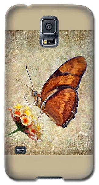 Butterfly Galaxy S5 Case by Savannah Gibbs