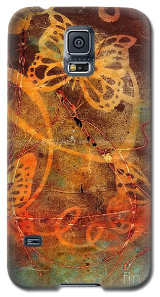 Butterfly Sun Dance Galaxy S5 Case