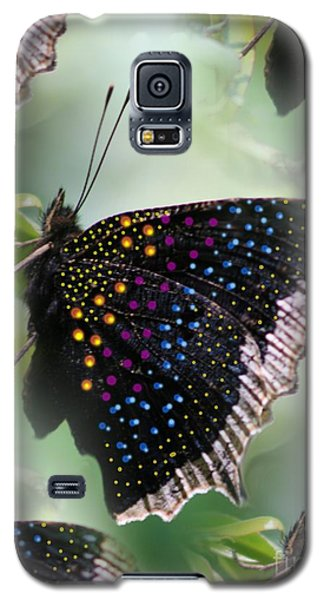 Butterfly Sunbath #2 Galaxy S5 Case