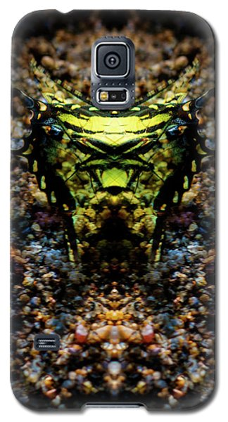 Butterfly Tiger Galaxy S5 Case