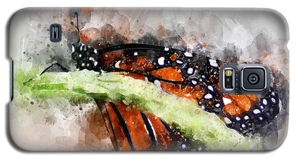 Butterfly Watercolor Galaxy S5 Case