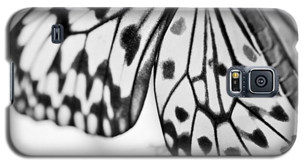 Butterfly Wings 3 - Black And White Galaxy S5 Case