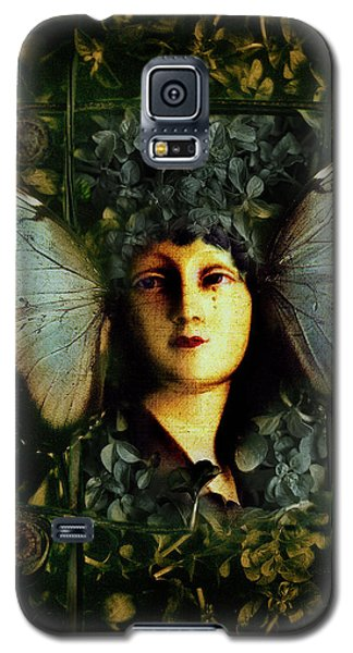 Butterfly Woman Galaxy S5 Case