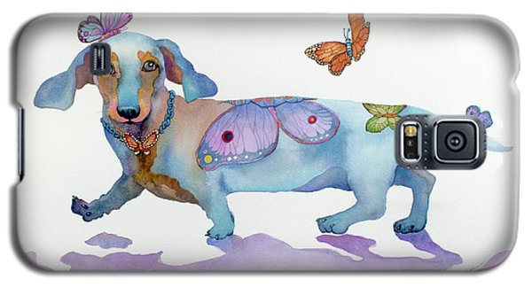 Butterfly Doxie Doo Galaxy S5 Case